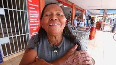 """""""Revele sua Brasília"""": Estrutural - Hoje a gente exibe a última reportagem da série em homenagem aos 59 anos de Brasília. Ao longo desta semana, o DF1 mostrou vídeos e fotos de moradores de cinco regiões do DF, que contaram um pouco da relação que cada um tem com o lugar onde mora. E a personagem de hoje é a Dona Maria José, comerciante da Cidade Estrutural."""