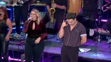 Marília Mendonça e Wesley Safadão abrem o programa cantando 'Ninguém É de Ferro' - Confira o sucesso!