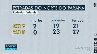 O feriadão da Páscoa registrou mais de 30 acidentes nas estradas da nossa região - Cinco pessoas morreram. No ano passado, houve apenas uma morte.