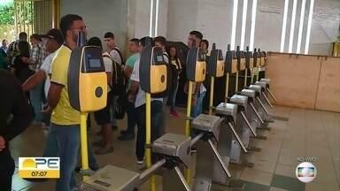 Integração Temporal na Estação Recife é adiada - Marcada para começar nesta terça (23), mudança começa dia 30 de abril.