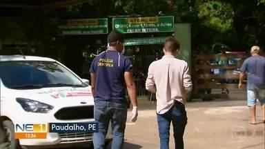 Dono de parque aquático reage a assalto e é morto a tiros em Aldeia - Idoso de 78 anos chegou a ser socorrido, mas não resistiu aos ferimentos. Crime ocorreu na cidade de Paudalho.