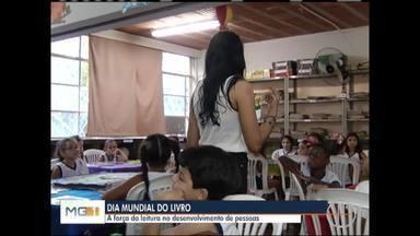 Dia Mundial do Livro é comemorado nesta terça-feira (23) - Escola Dom João Pimenta possui dez projetos de incentivo à leitura para os alunos.