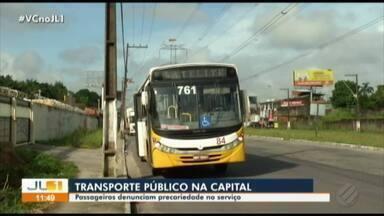 Passageiros denunciam precariedade no serviço dos ônibus da Grande Belém - Nova tarifa ainda não foi homologada pela Prefeitura de Belém