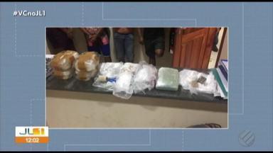 Operação de combate ao tráfico em Mosqueiro prende seis homens - Mais de 3 kg de droga já foram apreendidos.