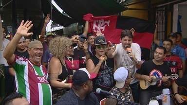 X-Caboquinho com Thiago #16 visita a feira do produtor com reforço de Wanderlei Andrade - Quadro do Globo Esporte AM comenta a última rodada dos estaduais; Acompanhe