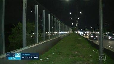 Muro de vidro terá vigilância mútua da USP e prefeitura da capital - Parceria tem validade de dois anos.
