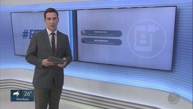 Veja os comentários dos telespectadores no EPTV2 nesta terça-feira (23) - Você também pode participar com a #EPTV2 pelo Twitter.