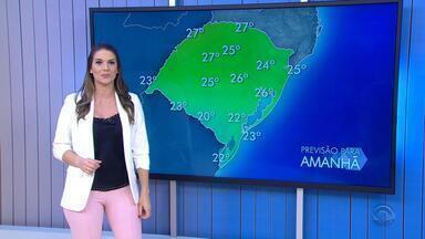 Tempo: frente fria se aproxima e pode trazer chuva no RS nesta quarta-feira (24) - Assista ao vídeo.
