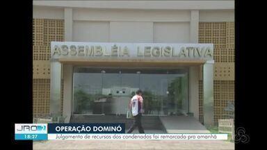 Recurso de 23 condenados na Operação Dominó devem ser julgados nesta quarta (24) - Julgamento foi remarcado após novos advogados pedirem mais tempo para se inteirar sobre os processos.