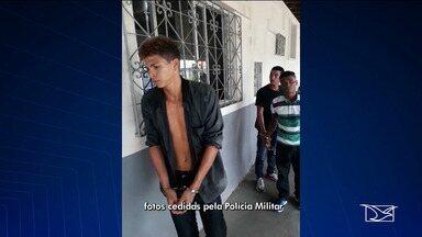 Polícia prende assaltantes de ônibus em São Luís - Três suspeitos foram presos em flagrante nas proximidades do Viaduto Alcione Nazaré.