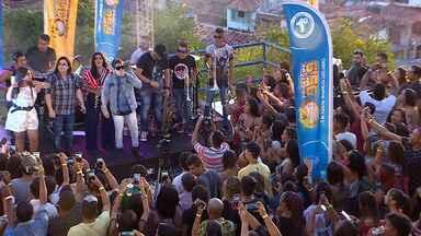 Banda Calcinha Preta faz prévia para o Forrozão 2019 - Festa acontece no dia 04 de maio.