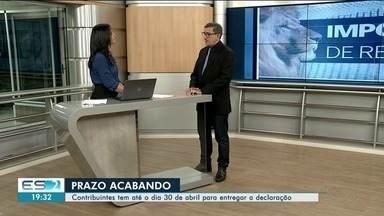 Contribuintes têm até 30 de abril para entregar a declaração do Imposto de Renda - Contador tira dúvidas no estúdio da TV Gazeta Norte.