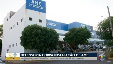 Ação civil cobra instalação de um AME em Presidente Venceslau - Ambulatório atenderia mais de 98 mil pessoas.
