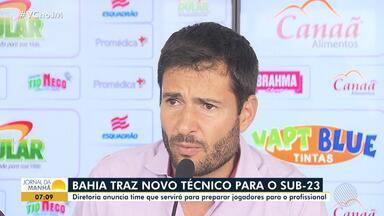 Bahia apresenta novo técnico para o time sub-23 - Veja os destaques do tricolor baiano.