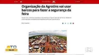Confira os destaques do G1 Tocantins desta quarta-feira (24) - Confira os destaques do G1 Tocantins desta quarta-feira (24)
