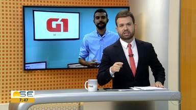 Anderson Barbosa conta as principais notícias do G1 Sergipe - Anderson Barbosa conta as principais notícias do G1 Sergipe.