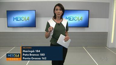 Maringá cria 184 empregos em março; é o maior número do PR - Dados foram divulgados nesta quarta-feira (24).