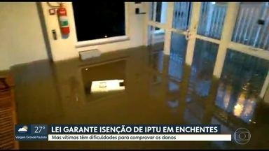 Vítimas de enchentes têm dificuldades de conseguir isenção do IPTU - Marcio Rachkorsky comenta e responde perguntas sobre condomínio
