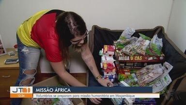 Voluntários se preparam para missão humanitária em Moçambique - Profissionais e estudantes universitários da área da saúde vão viajar em setembro pra Moçambique, pra ajudar a população de Maputo.