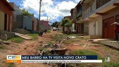 Meu Bairro na TV visita o Crato - saiba mais em g1.com.br/ce