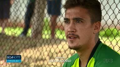 Filho de Romário é um dos novos integrantes do Maringá FC - Equipe se prepara para a série D.