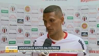 Recém-contratado, Higor Meritão já está à disposição do Botafogo-SP - Jogador pode entrar em campo no confronto contra o Vitória.