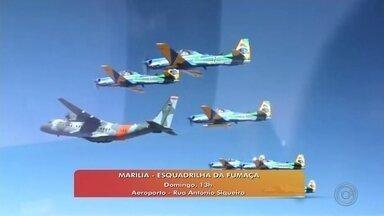Esquadrilha da Fumaça se apresenta neste final de semana em Jaú - Em Jaú, os tucanos da Força Aérea irão sobrevoar o Recinto de Exposições de Jaú nesta sábado e domingo.