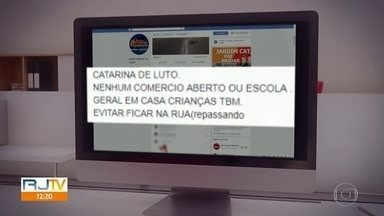 Traficantes mandam fechar comércio e escolas em São Gonçalo - Na noite deste quinta-feira (25), um traficante conhecido como Antonácio Rosário foi morto por um suposto aliado do tráfico de drogas.