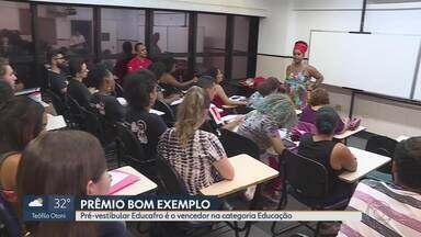 Prêmio Bom Exemplo: Pré-vestibular Educafro é o vencedor na categoria Educação - Projeto luta por uma universidade mais plural.