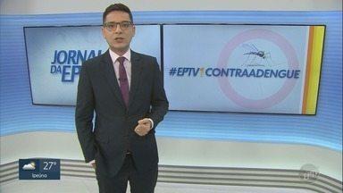 Casos registrados de dengue chegam a 7.971 em Campinas - EPTV1 ouve relatos de pessoas que enfrentaram a doença.