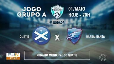 Copa Rio Sul de Futsal: três jogos decisivos movimentam Sul do Rio - Todos os jogos são as 20h, com torcida única.