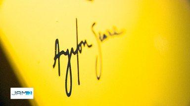 25 anos sem Ayrton Senna: fã do AM batiza filho com nome de ídolo - Morte de piloto em 1994 ainda marca fãs.