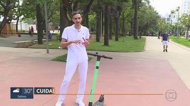 Acidentes com patinetes elétricos são registrados em Belo Horizonte - Segundo o diretor assistencial da Fhemig, Marcelo Lopes Ribeiro, na última semana, quatro pessoas foram atendidas no Hospital de Pronto-Socorro João XXIII.