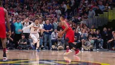 Portland Trail Blazers vence o Denver Nuggets e empata série dos playoffs da NBA - Portland Trail Blazers vence o Denver Nuggets e empata série dos playoffs da NBA