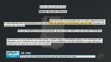 Frentista confessa ter sido informante de roubo com morte em posto de Ribeirão Preto - Ela disse que fez isso em troca de cartão de supermercado de R$ 500.
