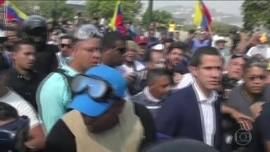 Conflito na Venezuela deixa cinco mortos desde terça (30), diz ONU - Autoproclamado presidente interino, Juan Guaidó reapareceu em público e convocou passeatas até as principais unidades das Forças Armadas.