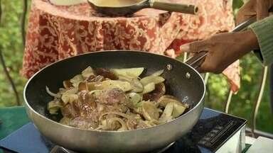 Comida da Macedônia do Norte é conhecida por ser muito saudável - Tudo é produzido de forma natural. Para experimentar um pouco desta culinária, a repórter Glória Maria foi conhecer um dos melhores cozinheiros do país.