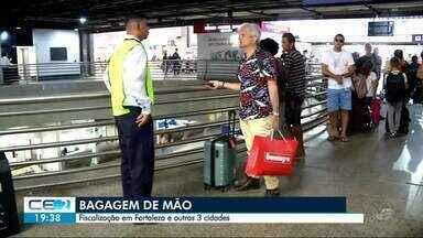 Bagagem de mão já está sendo fiscalizada no Aeroporto de Fortaleza - Saiba mais em g1.com.br/ce