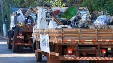 Projeto Cidade Limpa está em Ibirarema - O projeto Cidade Limpa está em Ibirarema para recolher material que está jogado no quintal e pode virar um criadouro do mosquito Aedes aegypti, além de esconderijo para bichos como o escorpião. O projeto é uma parceria entre a TV TEM, prefeituras e a comunidade.