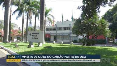MP aponta falhas no registro de cartões-ponto da Universidade Estadual de Maringá - Ministério Público sugere que a universidade instale pontos biométricos.