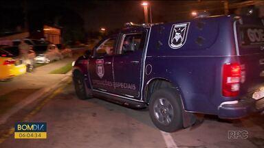 Presos fazem rebelião na Central de Flagrantes - Presos se revoltam com a superlotação da delegacia.