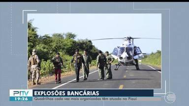 Quadrilhas que atuam em assaltos no Piauí estão cada vez mais equipadas - Quadrilhas que atuam em assaltos no Piauí estão cada vez mais equipadas