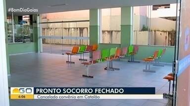 Pronto socorro da Santa Casa de Catalão é fechado - Unidade de saúde está atendendo apenas casos de extrema urgência.