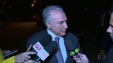 Michel Temer deve se apresentar à Polícia Federal em São Paulo nesta quinta (9) - O ex-presidente deve voltar à prisão, como determinou desembargadores do Tribunal Regional Federal da Segunda Região, no Rio de Janeiro.