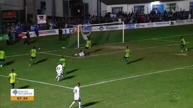 Ypiranga se classifica para o Gauchão 2019 - Glória tinha vantagem, mas jogo teve final surpreendente.