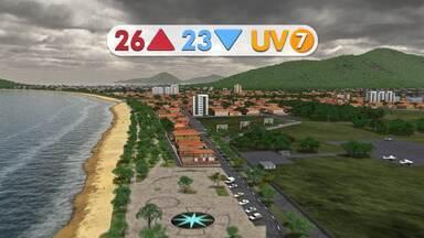 Veja na previsão do tempo - Há chances de chuva no litoral