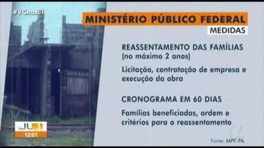 MPF e Defensoria ingressam ação civil contra prefeitura cobrando entrega de residencial - A obra fazia parte do projeto 'Portal da Amazônia' e iria reassentar as famílias retiradas do local
