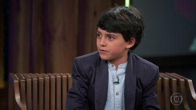 """Felipe Costa fala sobre audição para o musical """"Billy Elliot"""" - Menino, de 10 anos, interpreta Michael, amigo de Billy"""