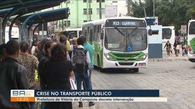 Prefeitura decreta intervenção no transporte coletivo de Vitória da Conquista - A decisão foi tomada após a empresa apresentar crise na durante a operação na cidade.