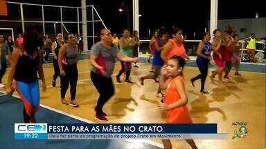 Projeto no Crato realiza festa para as mães - Confira mais notícias em g1.globo.com/ce
